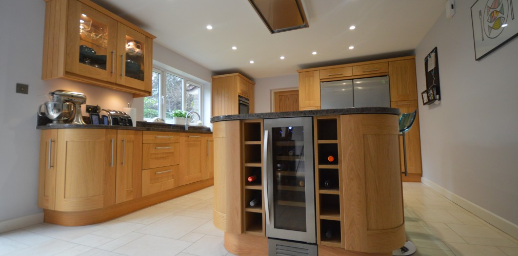 Home bespoke designer kitchens in oxfordshire by unitech for Kitchen ideas zebrano
