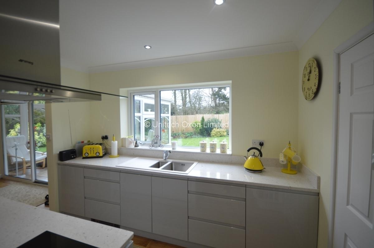 Contemporary Kitchen Designs Bespoke Designer Kitchens In - Dove grey kitchen units