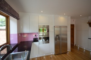 Burbidge Malmo Gloss White Contemporary Kitchen