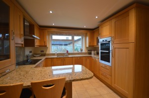 Marpatt Monarch Light Oak Traditional Kitchen