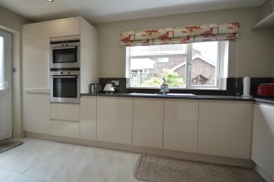 Second Nature Remo Beige Contemporary Kitchen
