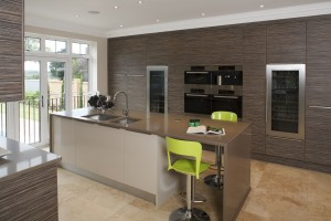 Unitech Oxon Dark Cordoba Olive Contemporary Kitchen