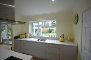 Second Nature Remo Dove Grey Contemporary Kitchen